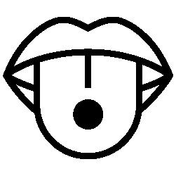 Piercingart Zungenpiercing