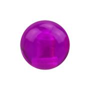 Micro Kugel violett transparent