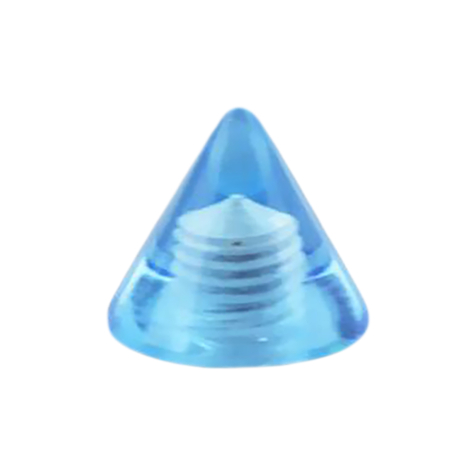 Cone hellblau transparent