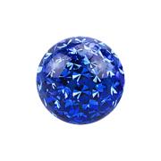 Micro Kristall Kugel dunkelblau Epoxy Schutzschicht