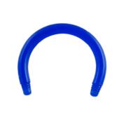 Micro Circular Barbell-Stab dunkelblau