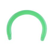 Micro Circular Barbell-Stab grün