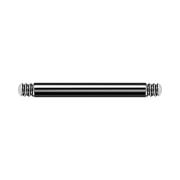Micro Barbell-Stab schwarz