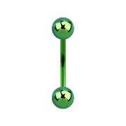 Micro Banane grün mit zwei Kugeln
