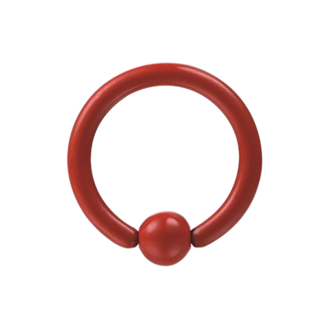 Ball Closure Ring Supernova Fire Red