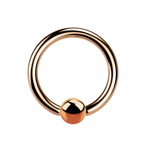 Ball Closure Ring rosegold