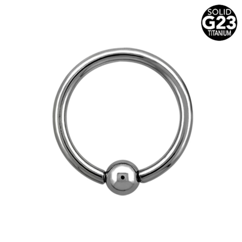 Ball Closure Ring silber
