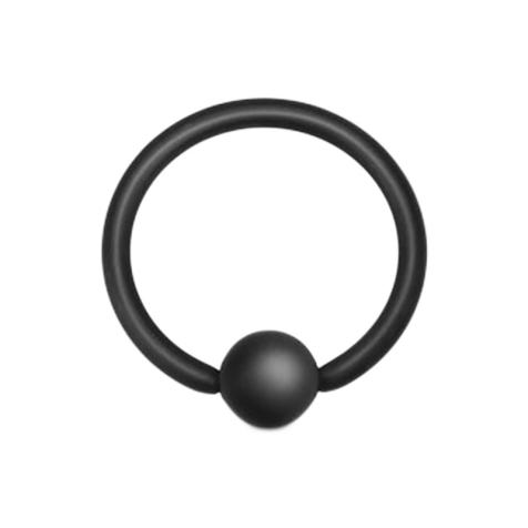 Ball Closure Ring schwarz matt