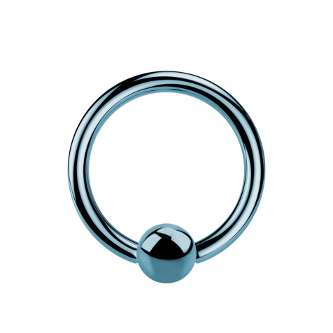 Micro Ball Closure Ring hellblau