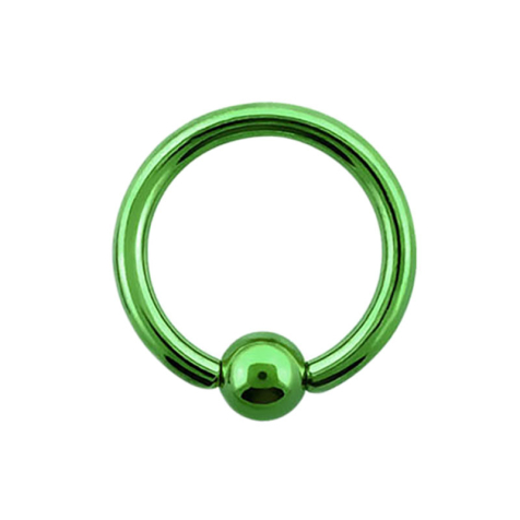 Micro Ball Closure Ring gr�n