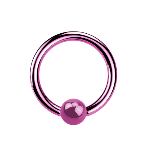 Micro Ball Closure Ring pink