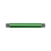 Barbell-Stab grün