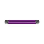 Barbell-Stab violett