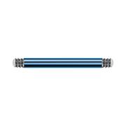 Micro Barbell-Stab hellblau