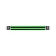 Micro Barbell-Stab grün