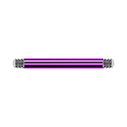Micro Barbell-Stab violett