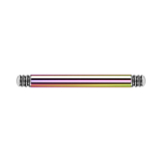 Micro Barbell-Stab farbig