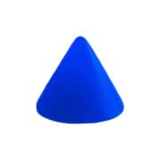 Micro Cone Neon dunkelblau