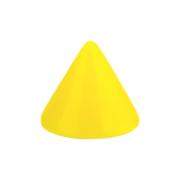 Micro Cone Neon gelb