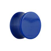 Flared Plug dunkelblau