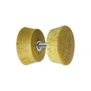 Fake Plug aus Jackfruit Holz