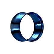 Flared Tunnel dunkelblau mit Schraubewinde