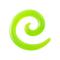 Dehnspirale grün Transparent
