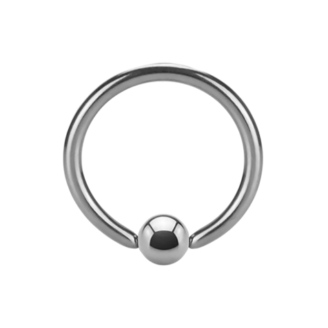 Micro Ball Closure Ring Supernova High Polished