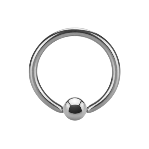 Ball Closure Ring Supernova High Polished