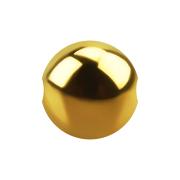 Ball Closure Kugel vergoldet