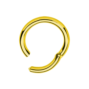 Segmentring vergoldet klappbar