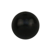 Kugel aus schwarzem Horn