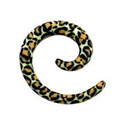 Dehnspirale Schlangenhaut orange