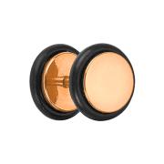 Fake Plug rosegold mit O-Ring