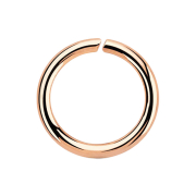 Micro Piercing Ring rosegold