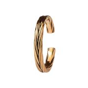 Ring rosegold geflochten
