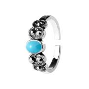 Ring silber mit Türkis Stein