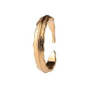 Ring rosegold Feder