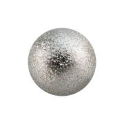 Micro Kugel silber gesprenkelt