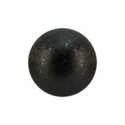 Micro Kugel schwarz gesprenkelt