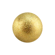 Micro Kugel vergoldet gesprenkelt