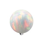 Dermal Anchor Kugel Opal weiss