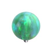 Dermal Anchor Kugel Opal grün