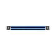 Micro Barbell-Stab dunkelblau