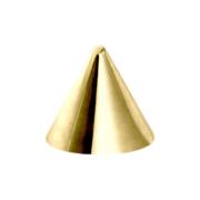 Micro Cone vergoldet