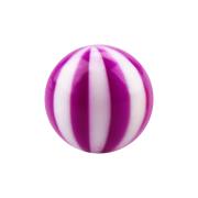 Micro Kugel mit Twistet violett