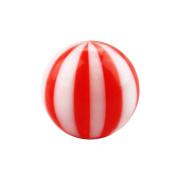 Micro Kugel mit Twistet rot