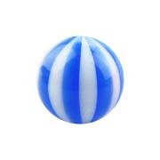 Kugel mit Twistet dunkelblau
