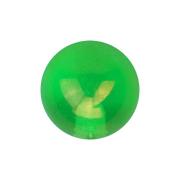 Kugel metallbeschichtet grün