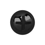 Dermal Anchor Kreuzschlitzkopf schwarz